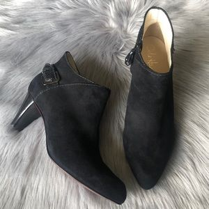 Cole Haan NikeAir Ankle Suede Boots Sz 8.5